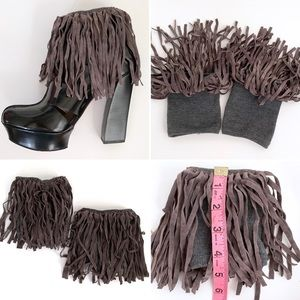 Fringed Ankle Cuff- New